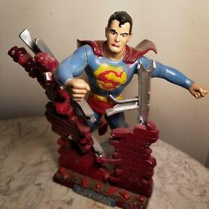 1964 Aurora Superman Model Kit (Built)