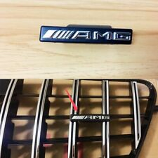 AMG Letters Emblem Badge For Merce-Benz E-Class W212 GT Grill 10-13+ A2228170415