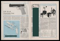 1963 COLT .22-,.5 Conversion Unit Exploded View.Parts List.Assembly Article