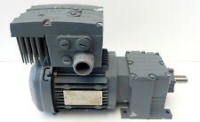 Elektrogetriebemotor SEW R17 DRS80S4/MM07 Getriebemotor Movimot 366U/min 0,75kW