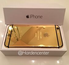 CUSTOM 24k Gold Plated iPhone 6 - 64GB (Unlocked) Verizon Tmobile Sprint Att