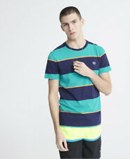 Superdry Mens  Organic Cotton Collective Stripe T-Shirt
