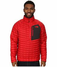 The North Face Thermoball Pullover Jacket Mens Sz Med Red 160