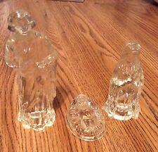 Princess House Lead Crystal Nativity Set Of 3