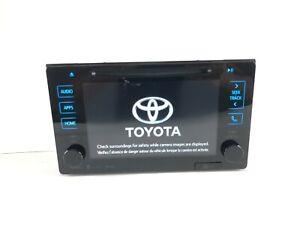 Toyota 2015-2018 Sienna Tacoma Prius 86100-04183 APPs Radio OEM 510367