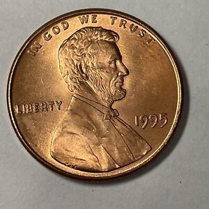 1995 Lincoln Penny Double Die Brilliant BU