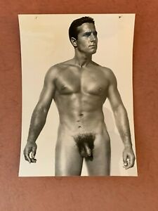 Vintage Male Nude Gay interest. 6 x 8 1/2.