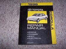 1996 Toyota Corolla Workshop Shop Service Repair Manual DX Sedan Wagon 1.6L 1.8L