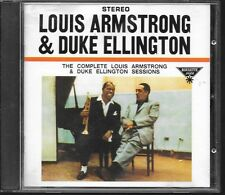 CD ALBUM 17 TITRES--LOUIS ARMSTRONG & DUKE ELLINGTON--THE COMPLETE SESSIONS