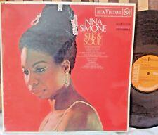 Nina Simone - Silk & Soul (RCA Victor) Original UK Funk Soul R&B Breaks LP