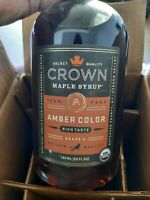 Crown Maple Syrup ~ Amber Color  Artisan Quality ~ 750 ml/25oz Bottle 👍 03/2021