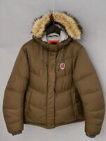 Donna Fjallraven Giacca Piumino Imbottito Caldo Inverno S UK10 VAS711
