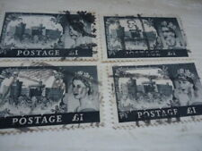 Queen Elizabeth £1 Used Stamps