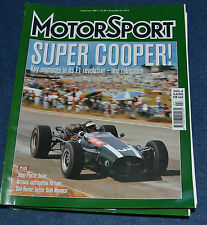 Motor Sport February 2003 Cooper Special, Arrows, Damon Hill Hungary'97, Jarier
