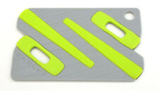 OAKLEY 3114 PAPERCLIP GREEN BLACK KIT TERMINALI VERDE NERO EARSOCK VISTA OCULOS