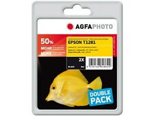 AGFA PHOTO TWINPACK Ink not original 2x T1281 for epson sx125 420w 425w