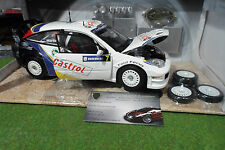 FORD FOCUS WRC RALLYE SUEDE #7 MARTIN au 1/18 HOT WHEELS B6231 voiture miniature
