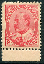 Canada - # 90 Fine Never Hinged Issue w/ Selvage - King Edward Vii - S5578