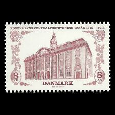Denmark 2012 - Cent of Central Post Office Architecture Building - Sc 1612 MNH