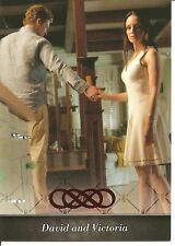 Revenge Season One David and Victoria Flashback Insert Trading Card #FB-01