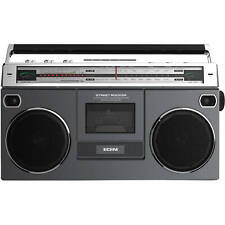 ION Audio Street Rocker Portable Bluetooth Retro-Style Stereo Boombox