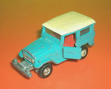 ⭐⭐ VINTAGE TOMY TOMICA NO. 2 BLUE TOYOTA LAND CRUISER - MADE IN JAPAN