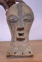 African tribal art,Songye mask  from kongolo region DRC