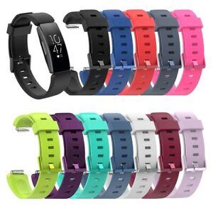 Ersatz Silikon Armband Für Fitbit Inspire / HR Gr S/L Uhren Sport Band Fitness