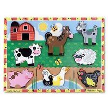 Puzzle animali a 2 anni in legno