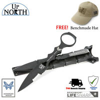 Benchmade 178SBK SOCP SKELETONIZED TACTICAL DROP-POINT KNIFE w/SHEATH FREE HAT