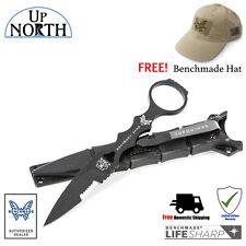 Benchmade 178SBK SOCP SKELETONIZED TACTICAL DROP-POINT KNIFE w/SHEATH FREE HAT