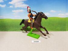 Britains Deetail Wild West American Indian on horseback (lot 2900)