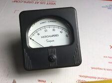 3 2 34hole Simpson Motorola 2051399 Microamperes Dc 50 Meter Panel Gauge