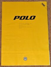 1979-80 VW POLO Sales Brochure - GLS, L. N