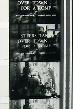 STEERS TAKE OVER TOWN FOR A RUMP 16MM FILM MOVIE NO REEL W46