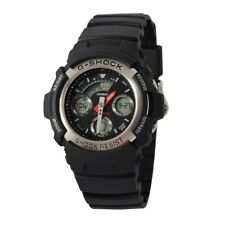 NEW RRP £85 Casio AW-590-1AER Mens G-Shock Chronograph Sports Watch