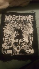 Massgrave Grindcore Backpatch