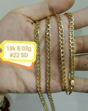 GoldNMore: 18K Gold Necklace 22 inches chain EPTG