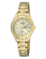Citizen Eco-Drive Damen Uhr Damenuhr Wochentag / Datum EW3142-56PE 10bar  NEU