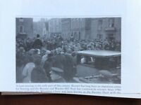 f1l ephemera reprint picture mansfield bicester hunt meeting warden hill 1900s