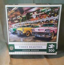 MasterPieces THREE BEAUTIES Car Jigsaw Puzzle 500 Pieces  NIB Fun