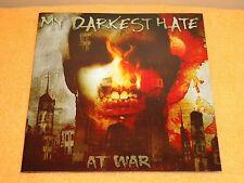 My Darkest Hate - At War - CD - 2004 Massacre Records. Death Metal, 1 CD, 1 DVD.