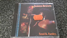 James Brown Soul & Funky CD Spanish Compilation Made in Austria No Barcode