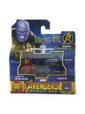 Marvel Minimates Avengers Infinity War Mark 50 Iron Man & Thanos TRU Toys R Us