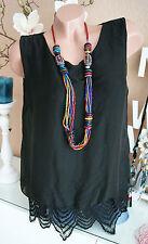Damen-Blusen ärmellose Damenblusen, - tops & -shirts aus Seide für die Freizeit