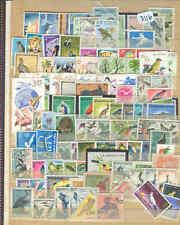 s3116 Stamp Accumulation Birds Topicals Worldwide