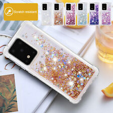 Shockproof Case For Samsung S20 Ultra S20+ S20 Bling Glitter Quicksand TPU Cover