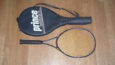 "Prince Graphite Lite XB OS Tennis Racket - New Pro Sensation Grip Wrap 4 1/4"""