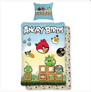 Bettwäsche Angry Birds 140 x 200 +  70 x 90