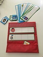 Lakeshore Learning  middle Vowels Activity Kit pocket chart cards Centers, group